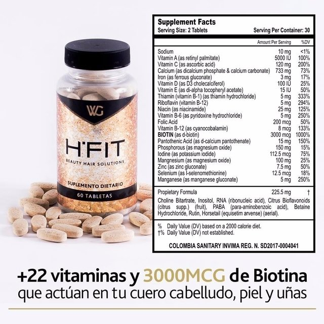 Hairfit Cabello Saludable